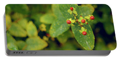 Fall Berry Portable Battery Charger