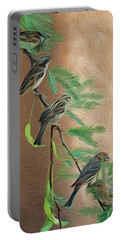 Portable Battery Charger featuring the photograph Full House Op17 by Mark Myhaver