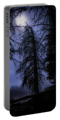 Full Moon In The Woods Portable Battery Charger