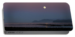Full Moon On Shipwreck Point Portable Battery Charger
