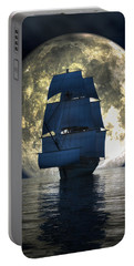 Full Moon Pirates Portable Battery Charger by Daniel Eskridge