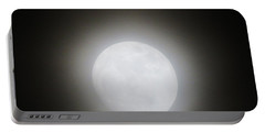 Full Moon Ring Portable Battery Charger by Kathy Long
