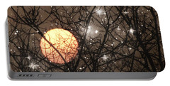 Full Moon Starry Night Portable Battery Charger