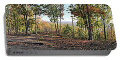 Full Panoramic View From The Summit Of Brown's Mountain Trail Portable Battery Charger