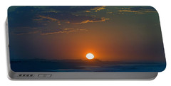 Portable Battery Charger featuring the photograph Full Sun Up by  Newwwman