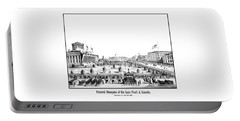 Funeral Obsequies Of President Lincoln Portable Battery Charger