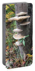 Fungi Portable Battery Charger by Christine Lathrop