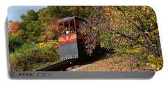 Funicular Descending Portable Battery Charger by Cindy Manero