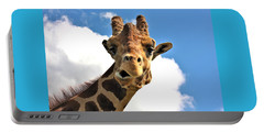 Funny Face Giraffe Portable Battery Charger