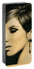 Funny Girl Portable Battery Charger