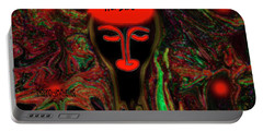 Portable Battery Charger featuring the digital art Funny Guy For A Fun Person by Sherri Of Palm Springs