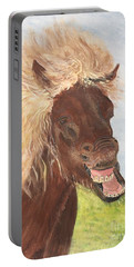 Funny Iceland Horse Portable Battery Charger