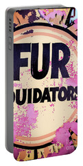 Portable Battery Charger featuring the photograph Fur - Sign by Colleen Kammerer