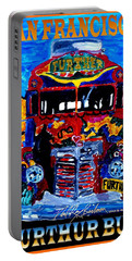50th Anniversary Further Bus Tour Portable Battery Charger