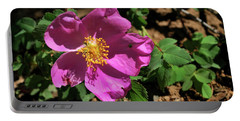 Fuschsia Mountain Accent Portable Battery Charger