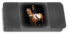 Future Horse Woman Portable Battery Charger by Barbara S Nickerson