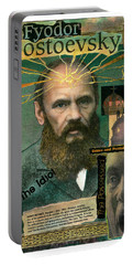 Fyodor Dostoevsky Portable Battery Charger