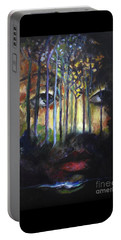 Gaia Portable Battery Charger by Jodie Marie Anne Richardson Traugott          aka jm-ART