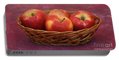 Gala Apple Basket Portable Battery Charger