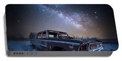 Galaxie 500 Portable Battery Charger by Aaron J Groen