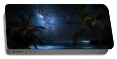 Galaxy Beach Portable Battery Charger by Mark Andrew Thomas