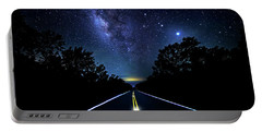 Portable Battery Charger featuring the photograph Galaxy Highway by Mark Andrew Thomas