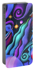 Galaxy Portable Battery Charger by Leon Zernitsky