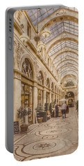 Paris, France - Galerie Vivienne Portable Battery Charger