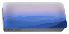 Galilee Mountains Sunset Portable Battery Charger by Yoel Koskas