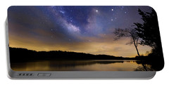 Gallactic Sunrise Portable Battery Charger by Bill Wakeley