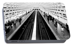 Gallery Place Metro Portable Battery Charger by Thomas Marchessault