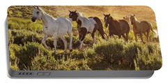 Galloping Down The Mountain Portable Battery Charger