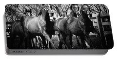 Galloping Horses Portable Battery Charger