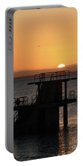 Galway Bay Sunrise Portable Battery Charger