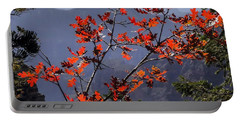 Gamble Oak In Crimson Fall Splendor Portable Battery Charger