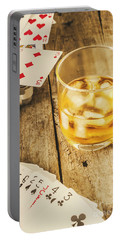 Gamblers Still Life Portable Battery Charger