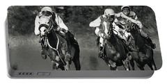 Gambling Horses Portable Battery Charger