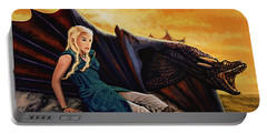 Game Of Thrones Painting Portable Battery Charger
