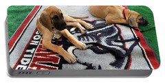 Gameday Great Dane Puppies Portable Battery Charger