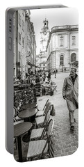 Gamla Stan Portable Battery Charger by Marius Sipa