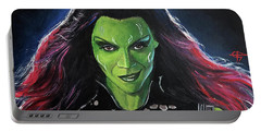 Gamora Portable Battery Charger by Tom Carlton