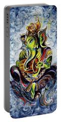 Ganesha Mridangam  Portable Battery Charger
