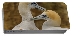 Gannets 4 Portable Battery Charger by Werner Padarin