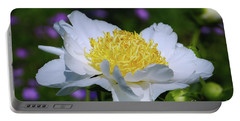Portable Battery Charger featuring the photograph Garden Beauty by Rachel Cohen