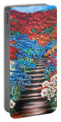 Flying Lamb Productions              Redwhiteandblue   Garden Cascade Portable Battery Charger