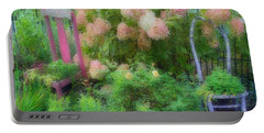 Garden Chairs Portable Battery Charger by Larry Bishop
