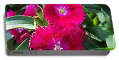 Portable Battery Charger featuring the photograph Garden Delight by Sandi OReilly