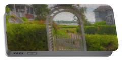 Garden Gate Falmouth Massachusetts Portable Battery Charger