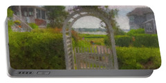 Garden Gate Falmouth Massachusetts Portable Battery Charger