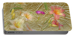 Garden In Gold Leaf2 Portable Battery Charger